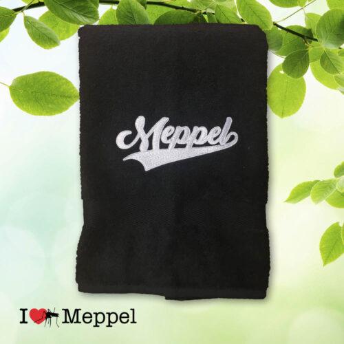 Meppel handdoeken cadeau souvenir ilovemeppel I love Meppel handdoek
