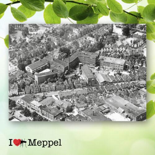 foto oud meppel brocades stationsweg emmastraat brocapharm poster meppel wanddecoratie meppel cadeau meppeler mug i love meppel
