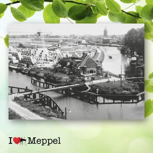 foto oud meppel kaapbruggen poster meppel wanddecoratie meppel cadeau meppeler mug i love meppel