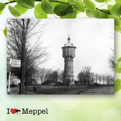 foto oud meppel watertoren poster meppel wanddecoratie meppel cadeau meppeler mug i love meppel