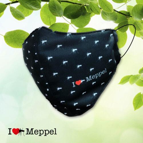 Meppel meppeler mug I love Meppel mondkapje mondmasker cadeau souvenir