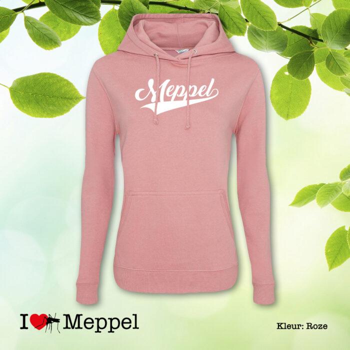 Meppel trui hoodie dameshoodie capuchontrui cadeau souvenir ilovemeppel I love Meppel Meppelshirt Meppel Möppelt