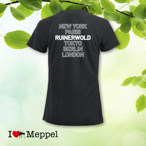 Ruinerwold Larijweg peren perenpluk t-shirt cadeau souvenir hunebedden I love Ruinerwold Ruinerwold shirt sportshirt